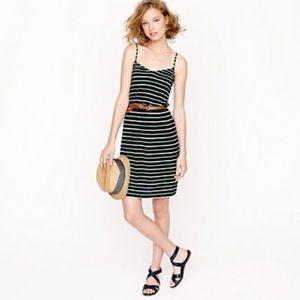 J. crew shoreline stripe dress